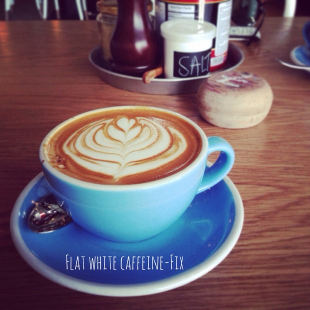 flat white caffeine fix