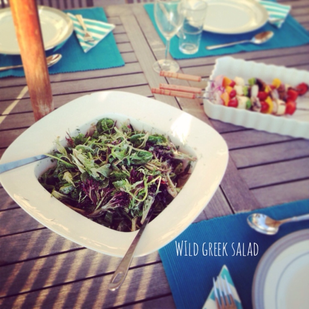 wild greek salad