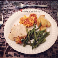 Chicken Maryland & Sweetcorn Fritters