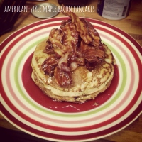 Maple & Bacon American Pancakes
