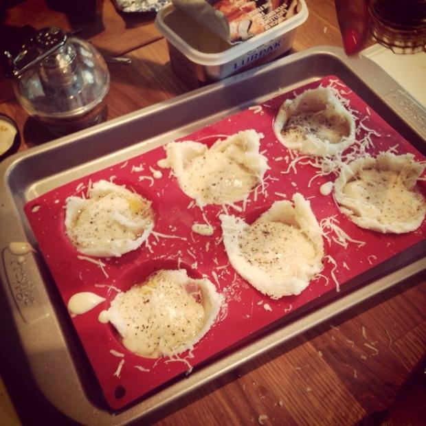 Croque Madame Muffins