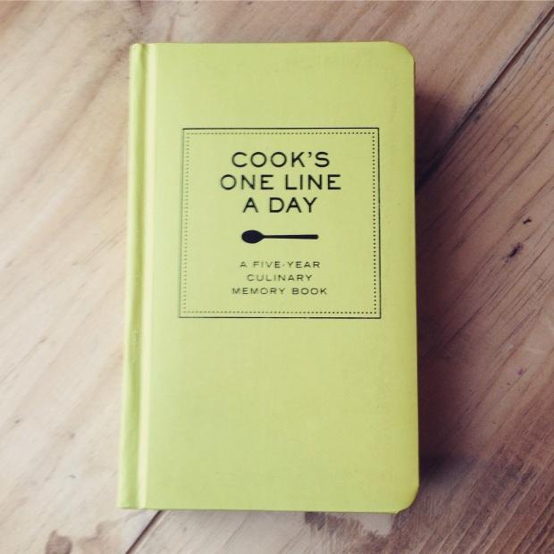 5 Year Culinary Diary