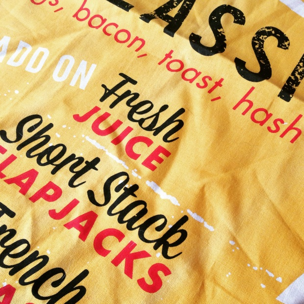 Retro Tea Towel