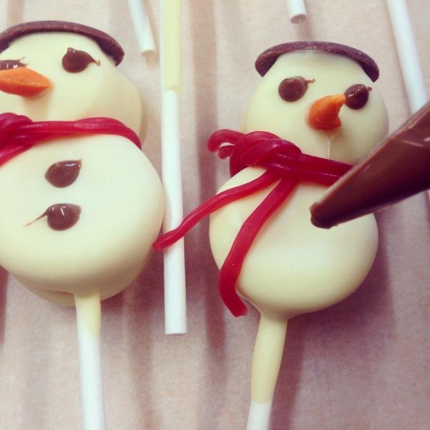 Chocolate Snowmen