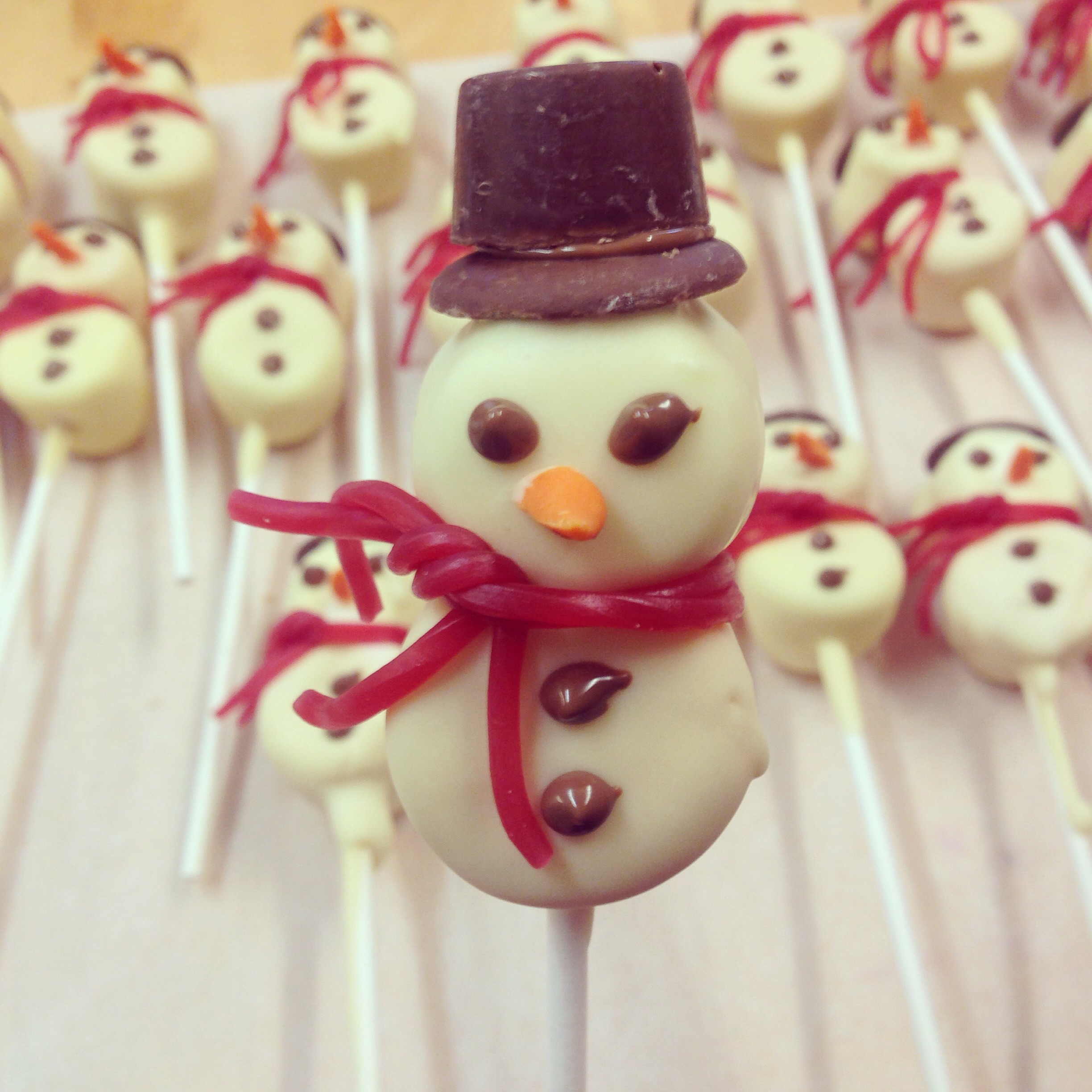 Chocolate Snowmen